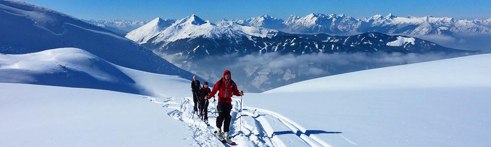 Skitour, Skidurchquerung Kitzbühl, Skidurchquerungen
