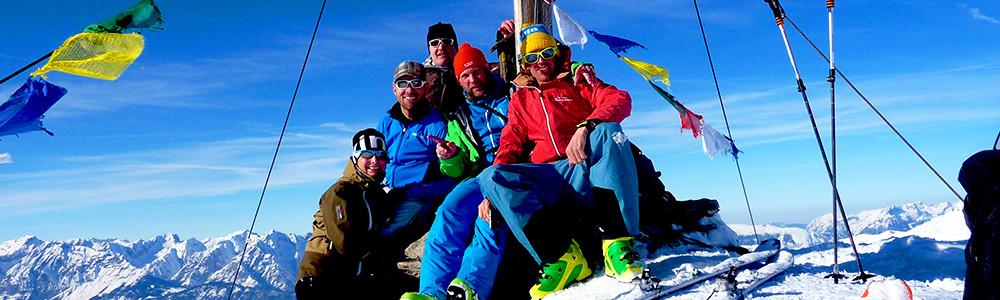 Skitour, Skidurchquerung, Tux