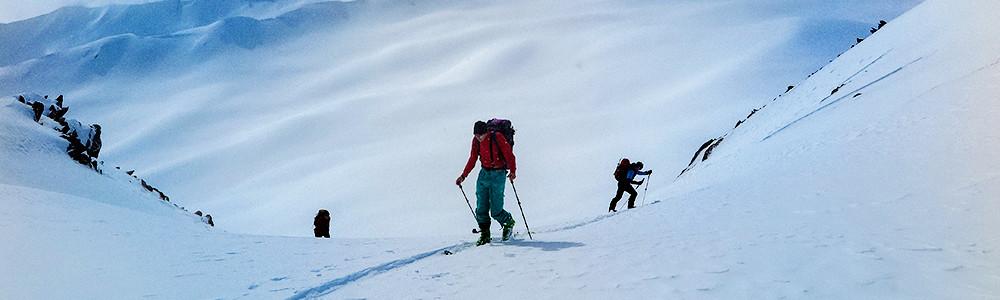 Skireisen, Georgien, Bergführer
