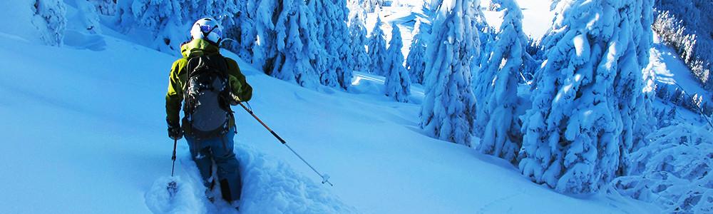 Skitouren Stützpunkte, Bayrische Alpen