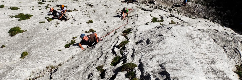 Alpinklettern, Führungen, Bergführer