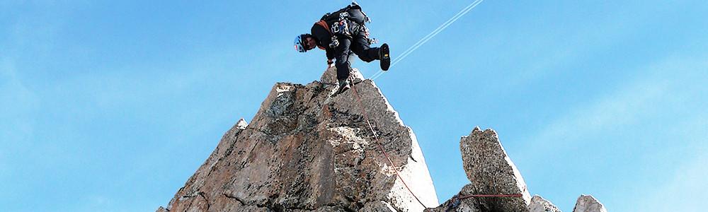 Klettern Mont Blanc, Alpinklettern, Führungen, Bergführer