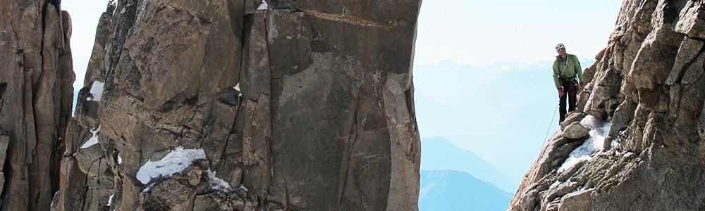 Alpinklettern, Führungen, Bergführer, Klettern Mont Blanc
