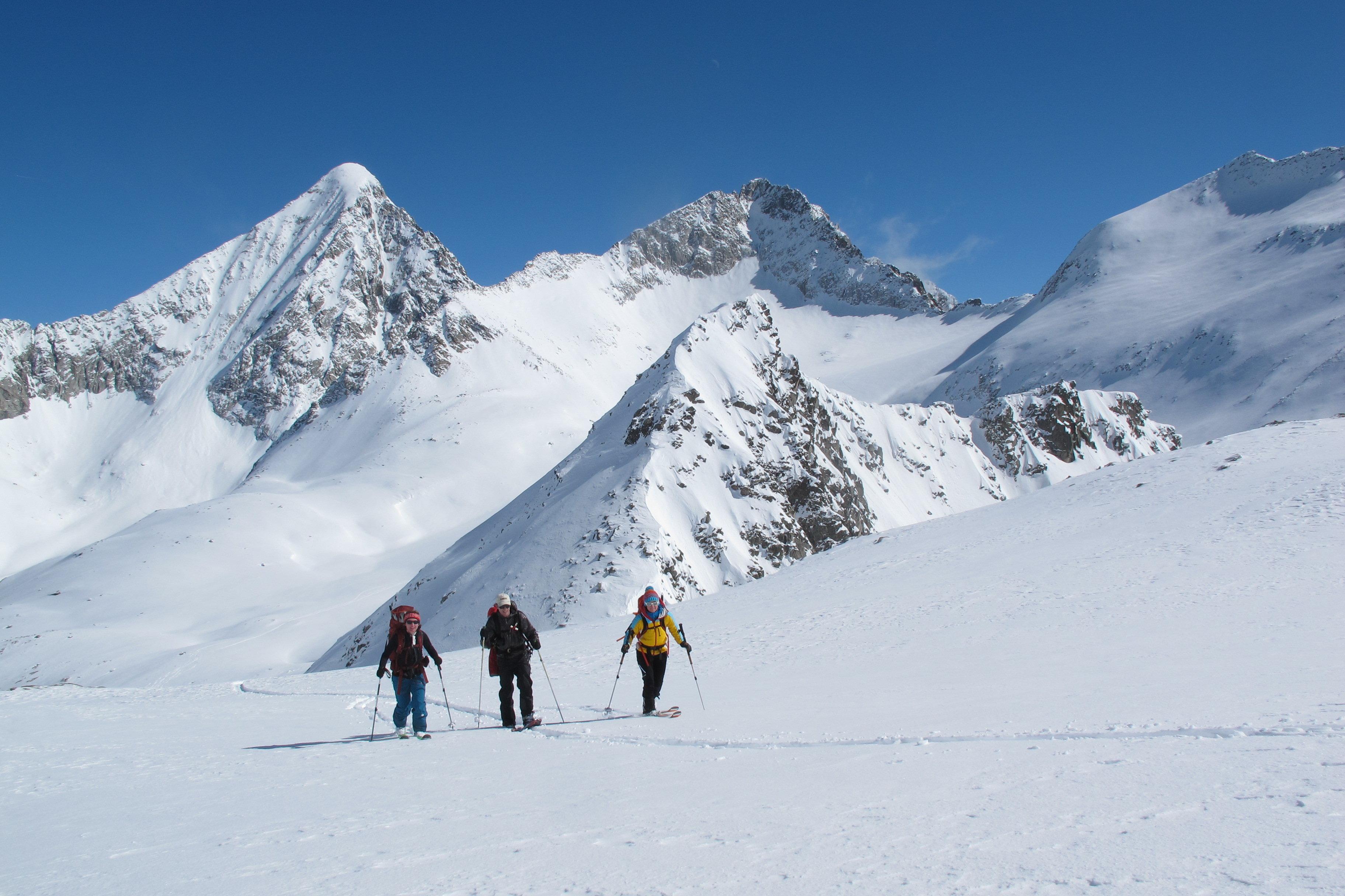 Klettergurt Skitour : Skitour transalp von bruneck nach kufstein