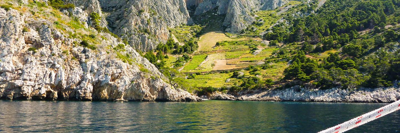 Segeln und Klettern Kroatien