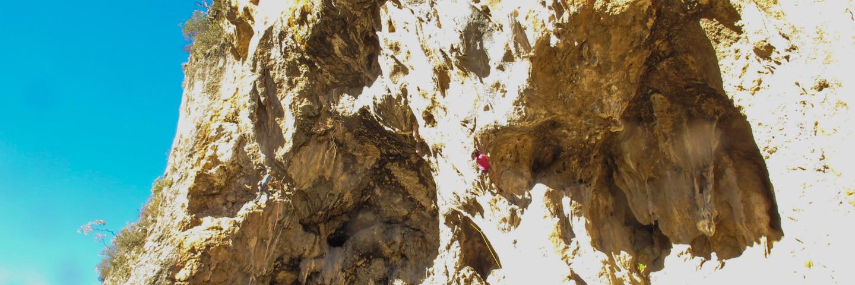 Kletterreise, Türkei, Outdoor