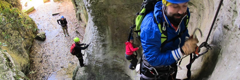 Hochtour, Führungen, Alpinschule, Bergführer, Klettersteig