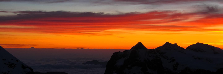 Hochtour, Führungen, Alpinschule, Bergführer, Mont Blanc