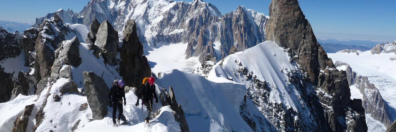 Hochtour Mont Blanc, Führungen, Alpinschule, Bergführer, Mont Blanc