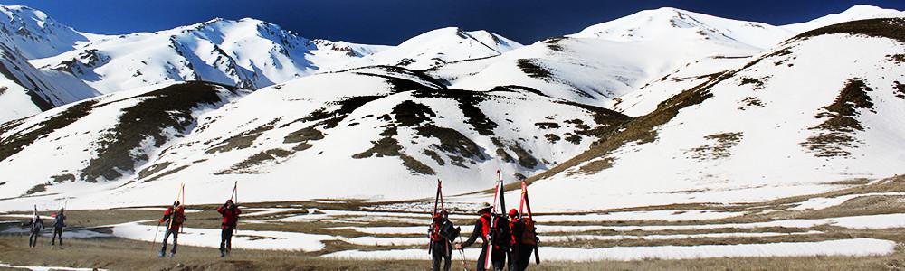 Skitourenreisen, Skireisen, Demavand, Bergführer
