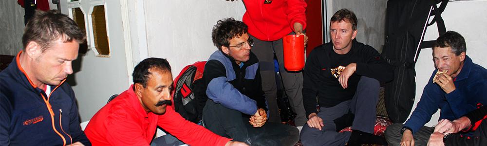 Skireisen, Demavand, Bergführer