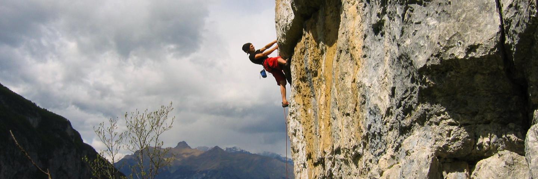 Sportklettern, Gardasee, Klettern, Outdoor
