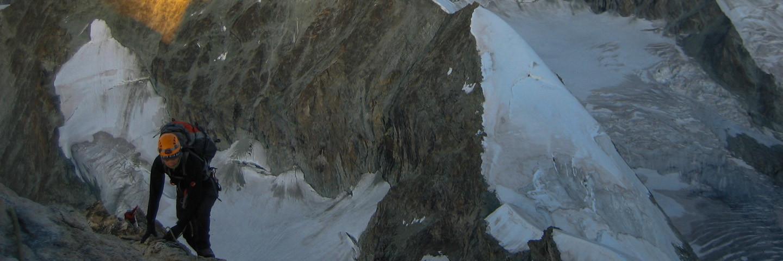 Hochtour, Führungen, Alpinschule, Bergführer, Wallis, Swiss