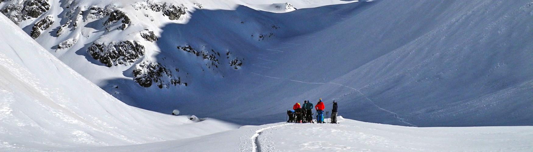 Skitour Transalp, Alpenüberquerung Ski, Bergführer Alpenüberquerung Skitour