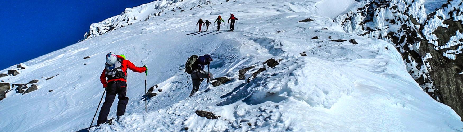 Skitour Transalp, Alpenüberquerung Ski, Alpenüberquerung Skitour
