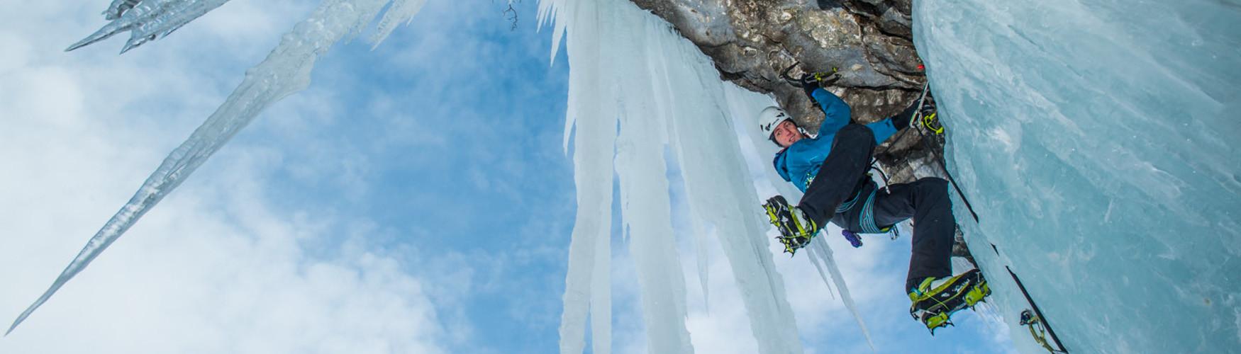 Eisklettern Tagestouren, Individuelle Tagestouren Eisklettern, Bergführer Eisklettern