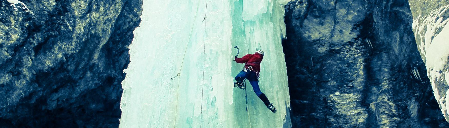 Grundkurs Eisklettern Bergführer