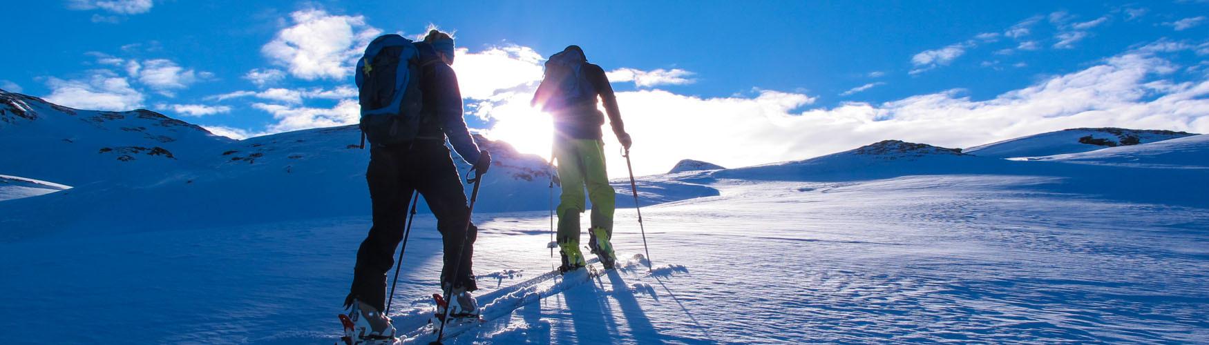 Skitourentraining