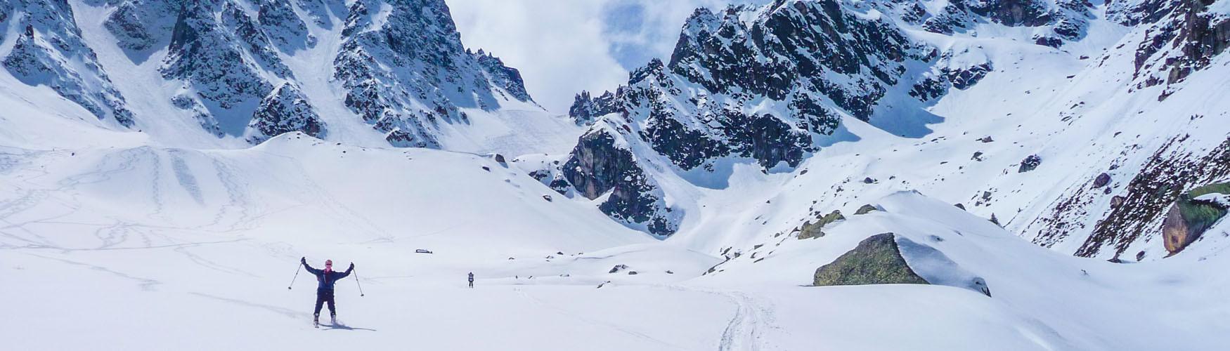 Skiduruchquerung Chamonix Zermatt
