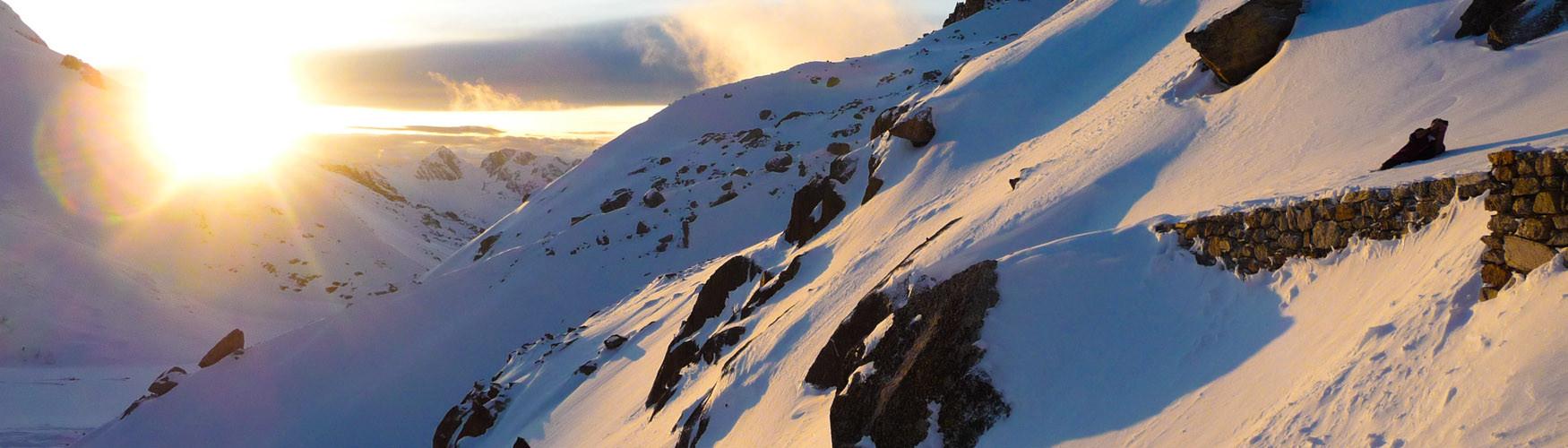 Bergführer Skiduruchquerung Haute Route