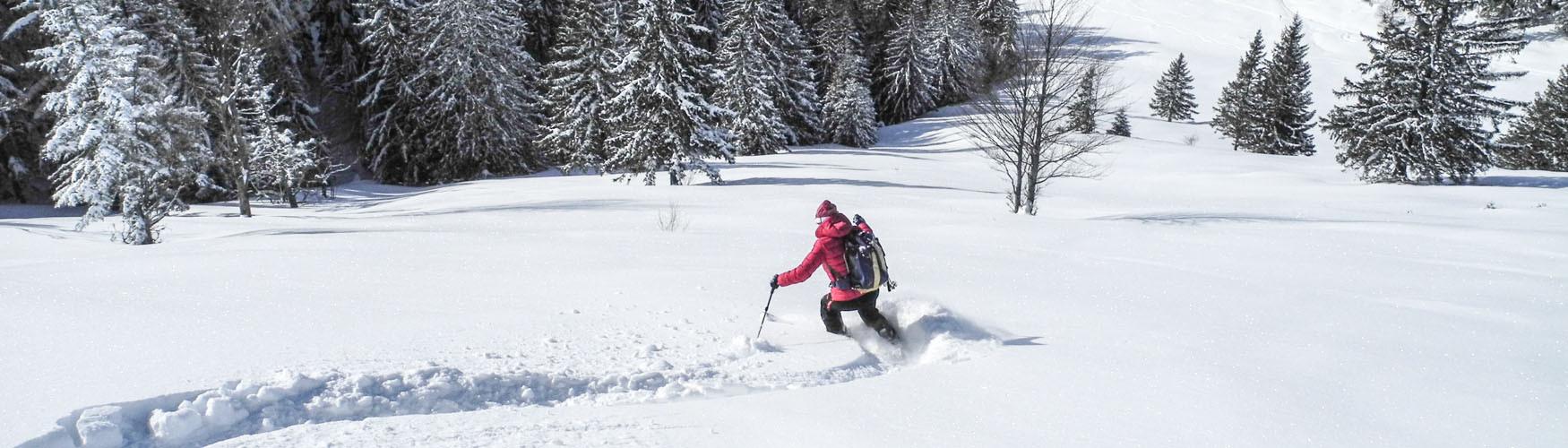 Skitour ausprobieren