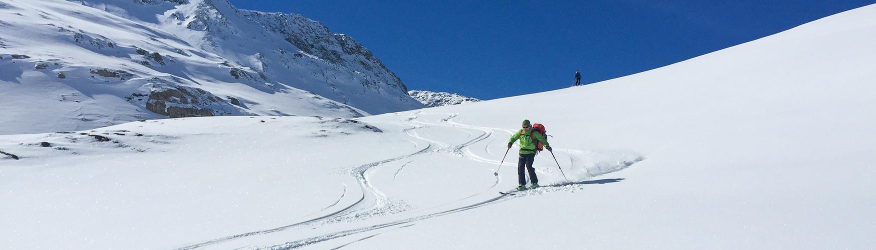 Skitouren Saoseo, Bernina Skitour, Bergführer Bernina