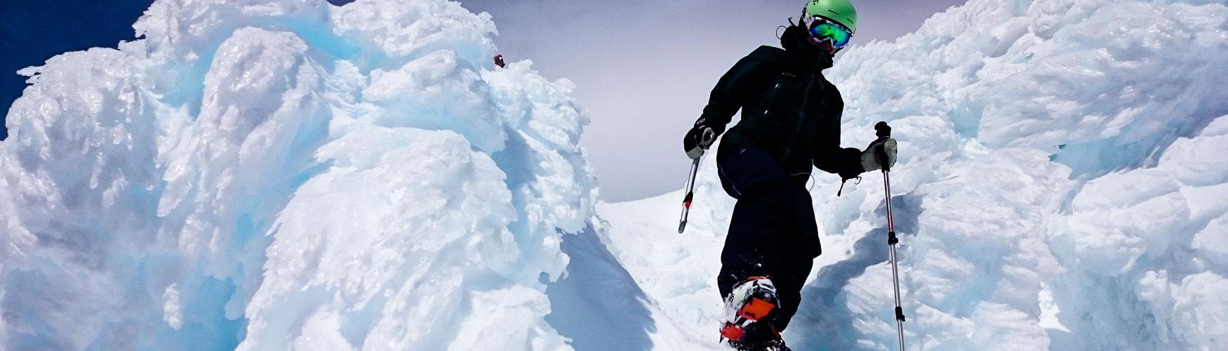 Chile Vulkane Skitour