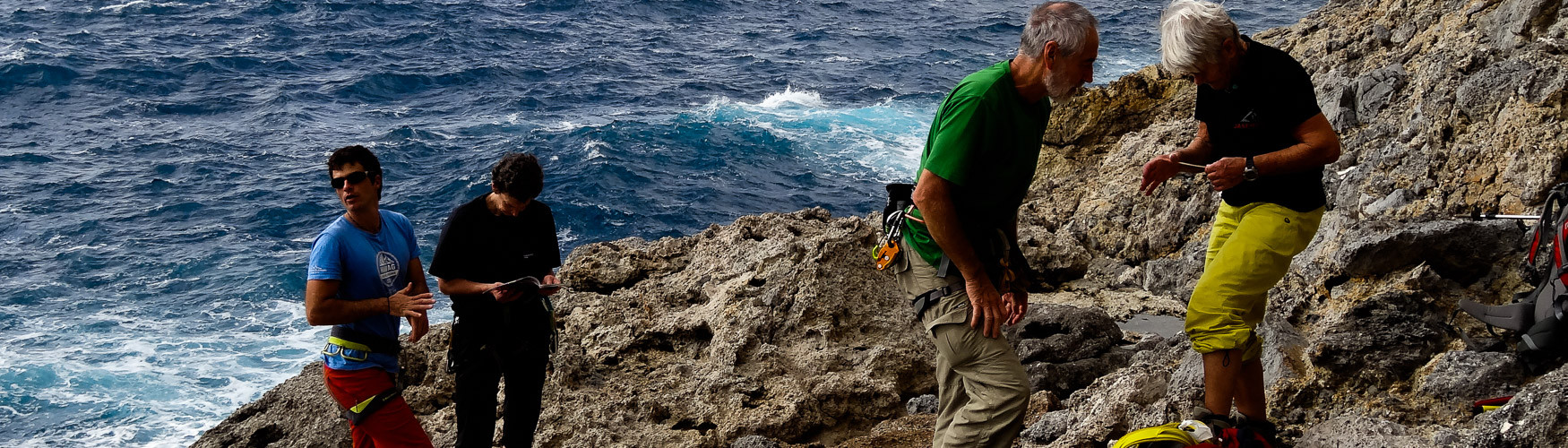 Klettern am Meer Kletterreise