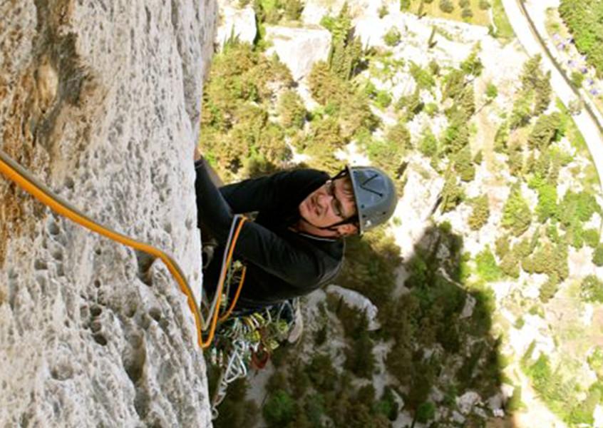 Alpinklettern, Italien, Bergführer, Klettern