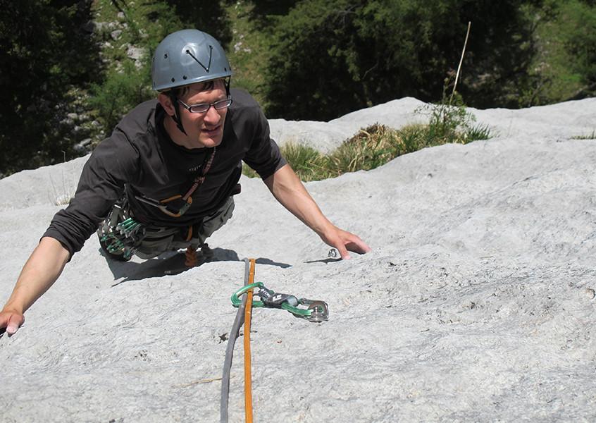 Alpinklettern, Gardasee, Italien, Klettern