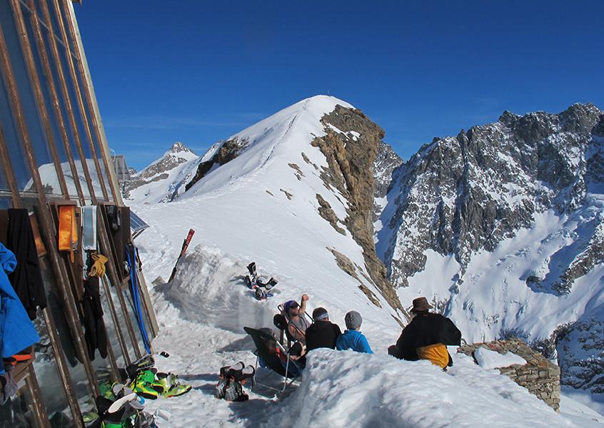 Barre des Ecrin Skitour