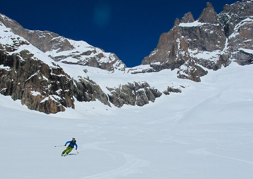 Skitouren Dauphine Bergführer