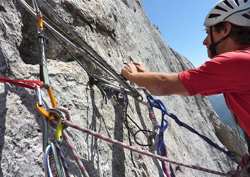 Alpinklettern Dolomiten