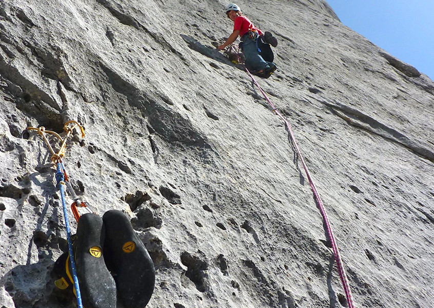 Marmolada Alpinklettern Bergführer