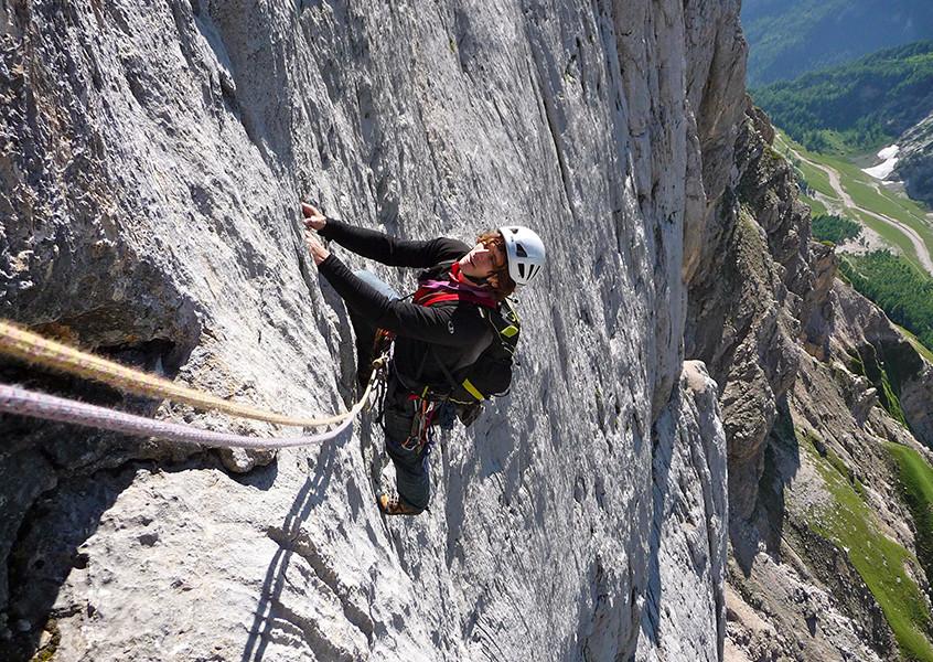 Marmolada klettern Bergführer
