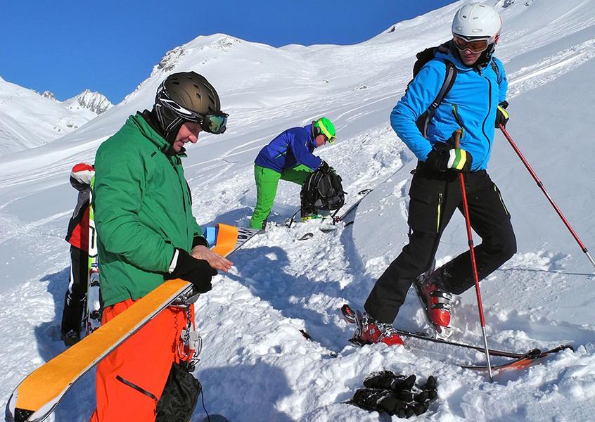 Freeride, Schweiz, Andermatt, Skitour