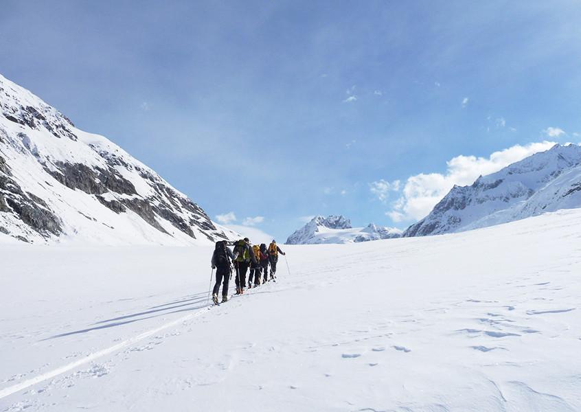 Skitour Chamonix-Zermatt