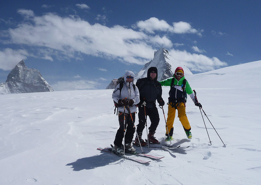 Skitour, Haute Route, Frankreich