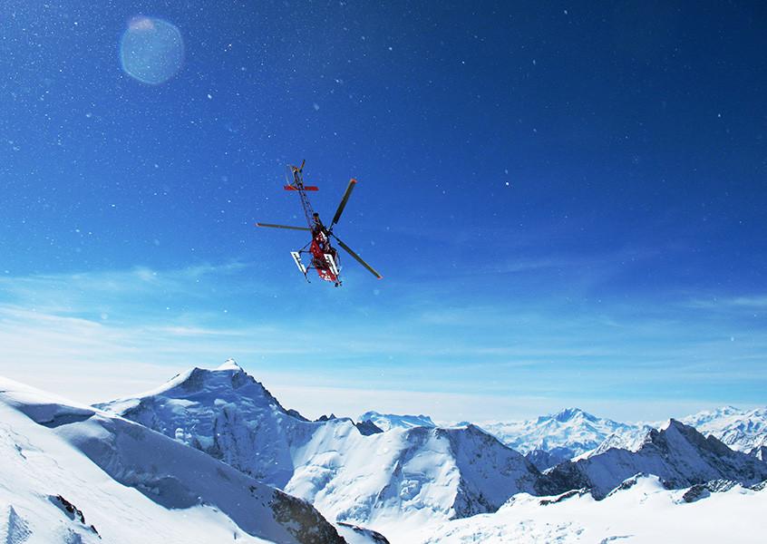 Heliski, Zermatt, Skitour, Schweiz