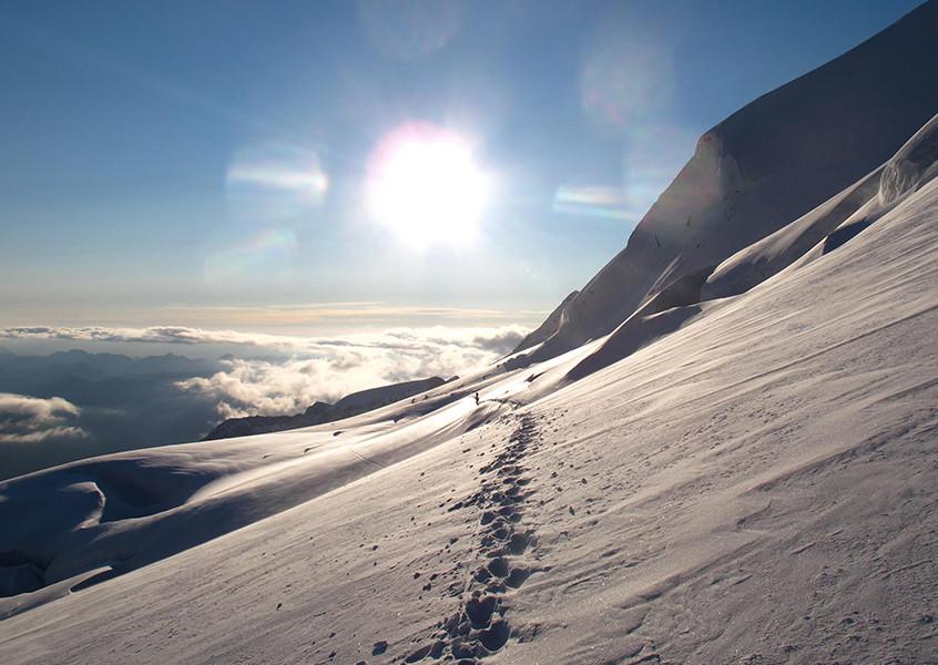 Hochtour, Bernina, Schweiz, Hochtourenführung