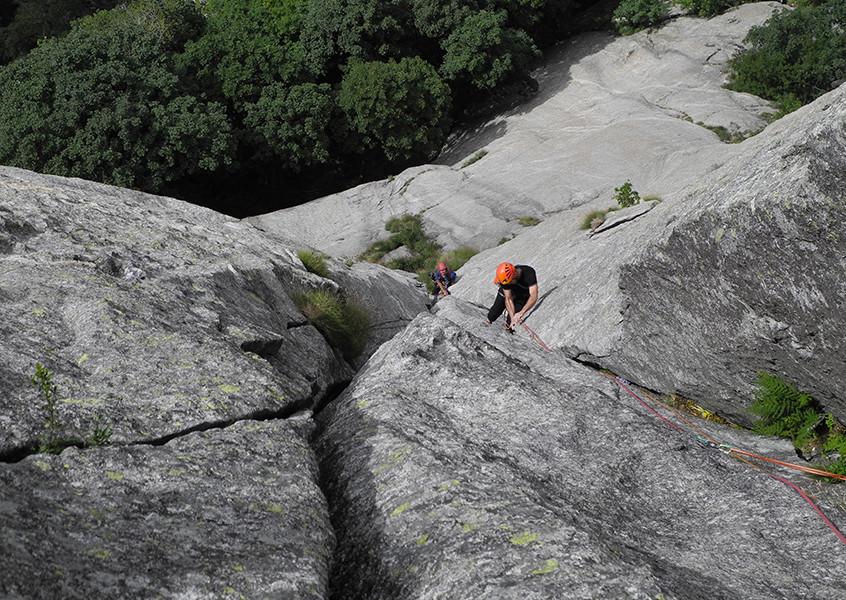 Val di Mello Alpinklettern