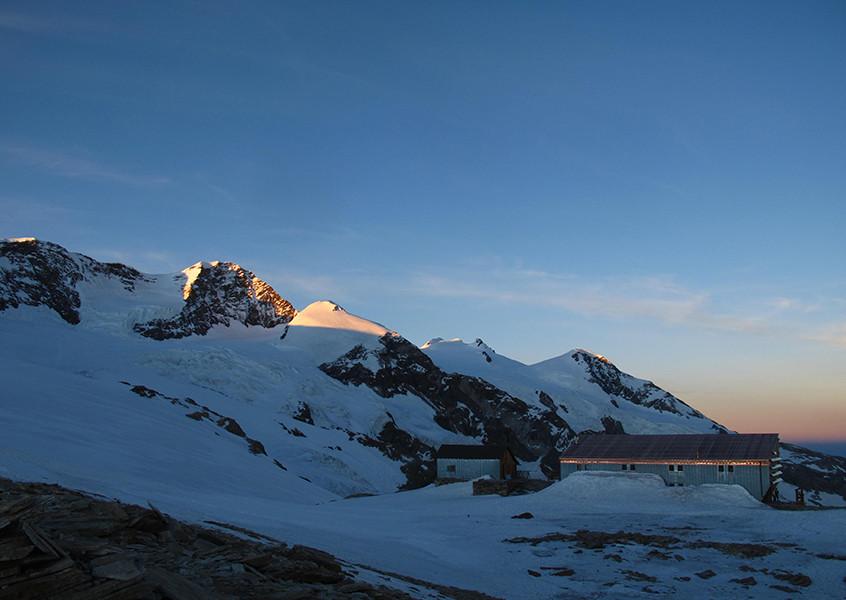 Hochtour, Wallis, Schweiz, Bergschule, Führung