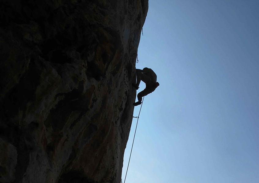Klettern Bergführer Sizilien