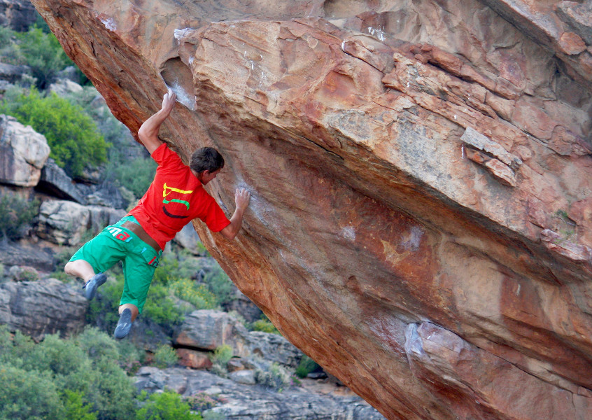 Klettern, Bouldern, Süd Afrika