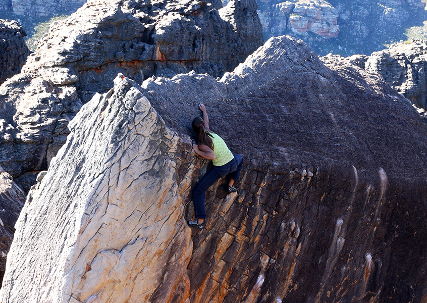 Klettern Südafrika