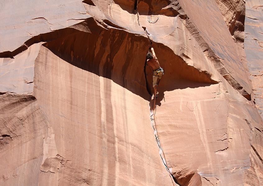 Klettern USA Indian Creek