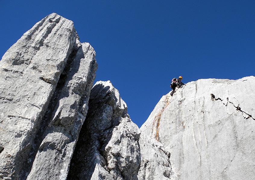 Wilder Kaiser klettern