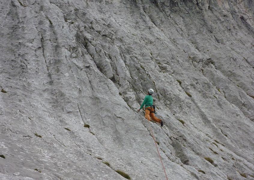 Alpinklettern, Wilder Kaiser, Bayern, Klettern