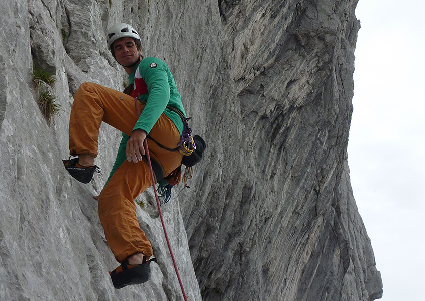 Wilder Kaiser Alpinklettern