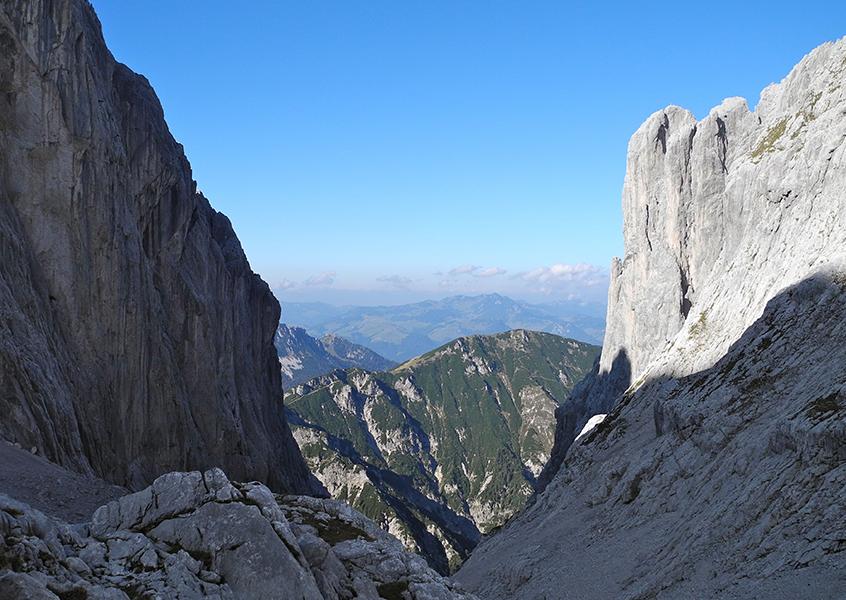 Wilder Kaiser, Bayern, Klettern, Kletterroute